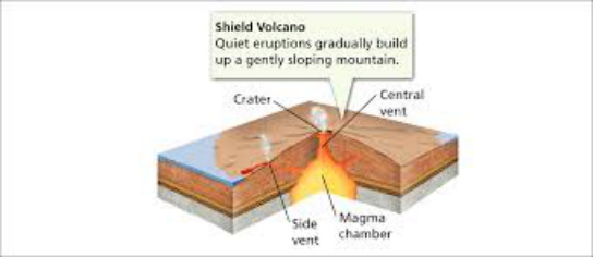volcanic landforms rh volcanoprojectchapter3 weebly com shield volcano blank diagram shield volcano diagram labeled